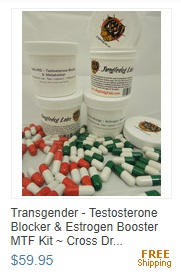 Transgender - Testosterone Blocker & Estrogen Booster MTF Kit ~ Cross Dressing!