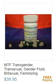 MTF Transgender, Transexual, Gender Fluid, BiSexual, Feminizing Estrogen Booster