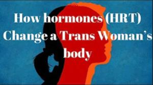 How Hormones (HRT) Change a Trans Woman's Body