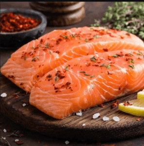 salmon lower testosterone levels